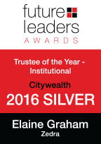 Future Leaders Awards - Trustee of the Year - Institutional 2016 Silver